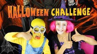 Halloween Make-Up Challenge / GamerGirl / RonaldOMG