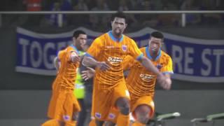 PS4 PES 2017 Gameplay Hilal El Obeid vs Creativo Do Libolo HD