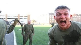 US Marines React To Being Pepper Sprayed And Tased - US Marines OC Pepper Sprayed And Tased