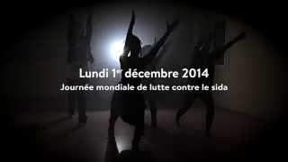 Flasmob journée mondiale de lutte contre le sida 2014
