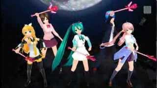 【ミク/ルカ/リン/MEIKO/KAITO】 Moon Revenge 【セーラームーンR】
