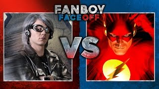 Quicksilver vs The Flash: Fanboy Faceoff