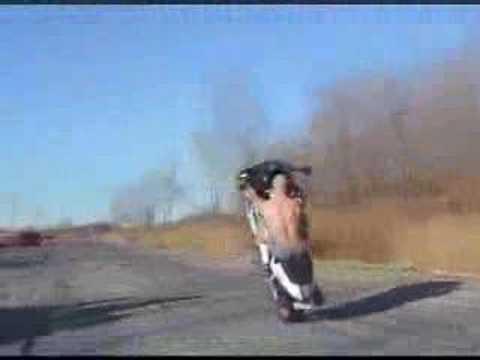 popisy motocyklistów