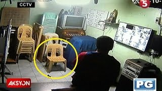 Sapul sa CCTV   Tanod sa Maynila, minulto raw habang naka-duty