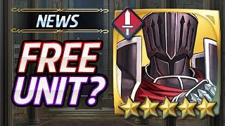 Fire Emblem Heroes - Black Knight will be a Free Unit,Arvis & Sigurd are coming up?