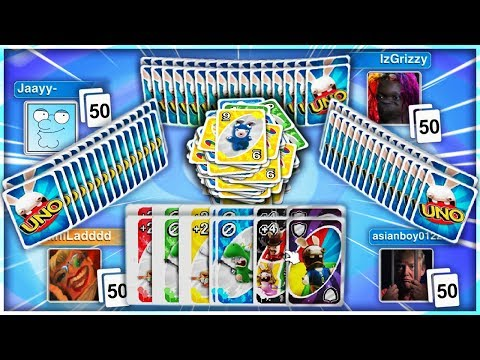 UNO The 50 CARD Challenge