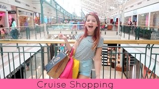 Cruise shopping   Target, Forever 21, Justice, Abercrombie Kids, JC Pennys