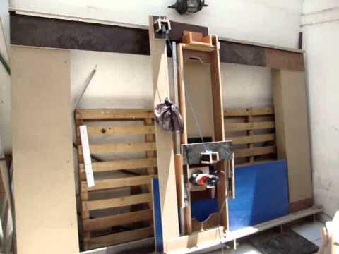 ROUTER PANEL HOMEMADE DIY para cortes perfectos de melamina