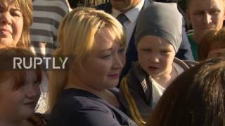 Russia: Putin visits Izhevsk family's home as promised during 'Direct Line'