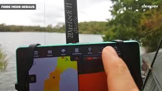 Gewässer ausloten und erforschen - einfach und genau mit dem Deeper Smart Sonar