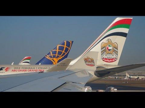 Etihad Airways Airbus A330 200 Departure From Abu Dhabi International Airport