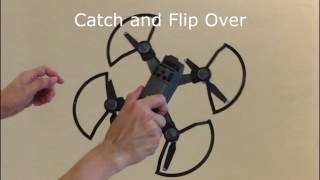 Tips for Hand Catch of DJI (Finger Hit by Propeller due to careless mistake)