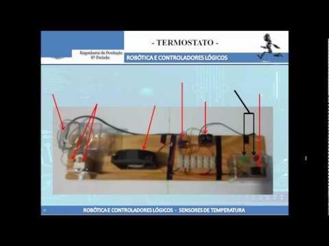 Sensores de Temperatura Rele e Termostato Funcionamento
