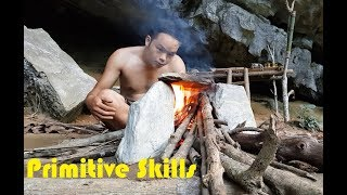 Primitive Technology: Primitive Wood Stove