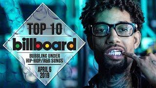 Top 10 • US Bubbling Under Hip-Hop/R&B Songs • April 6, 2019 | Billboard-Charts