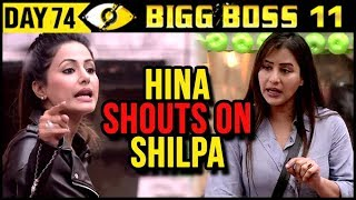 Hina Khan SHOUTS On Shilpa Shinde For BAD COOKING | Bigg Boss 11 14th December 2017 Episode Update