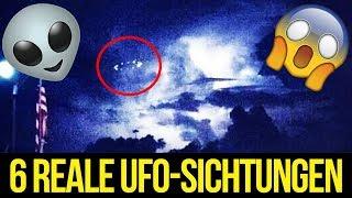 6 mysteriöse aber ECHTE UFO-sichtungen!