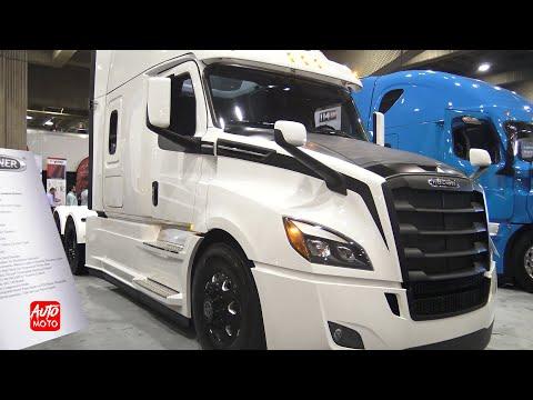 Freightliner 2019 New Cascadia 126 sleeper Exterior And Interior walk around