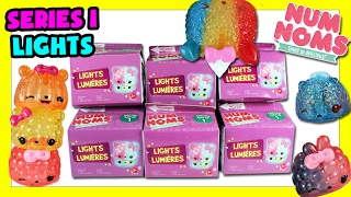 2017 Num Noms Lights Series 1 - Num Noms Series 1 Lights Unboxing - Num Noms Series 3
