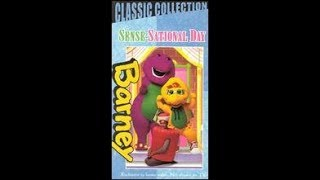 Barney's Sense-Sational Day 1999 VHS
