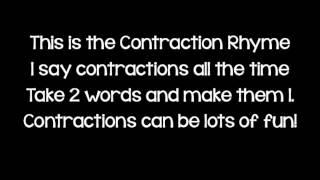 Contractions Rap