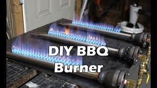 How to Make a BBQ Burner - Propane