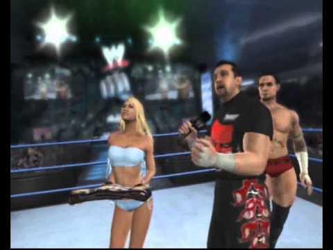 WWE Smackdown vs Raw 2008 24 7 Cut Scenes