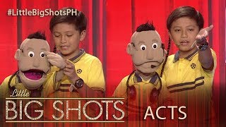 Little Big Shots Philippines: Dwayne | 10-year-old Ventriloquist