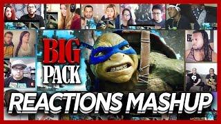 Teenage Mutant Ninja Turtles 2 Trailer #2 Mega Reaction's Mashup (24 Best Reaction's)