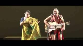 Bedabati Lourembam with Guru Rewben