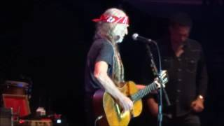 """Living in the Promised Land"" Willie Nelson - Hinterland 2016"