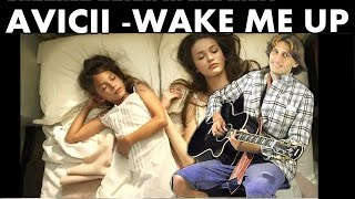 Wake Me Up - Avicii (Fingerstyle Guitar - TAB FREE) Acoustic guitar solo cover