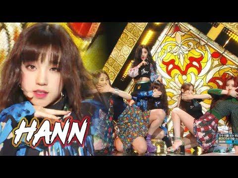 [Comeback Stage](G)I-DLE - HANN , (여자)아이들 -  한(一) Show Music core 20180818