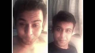 Salman Khan with Sanjay Dutt on