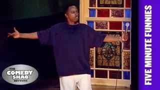 Eddie Griffin⎢The Black Celebrity Hit List⎢Shaq's Five Minute Funnies⎢Comedy Shaq
