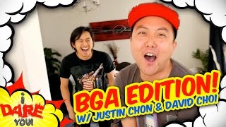 I Dare You: ULTIMATE WEDGIE! (ft. Justin Chon & David Choi)