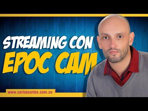 Transmisión real time en Facebook a 2 cámaras usando OBS y EpocCam