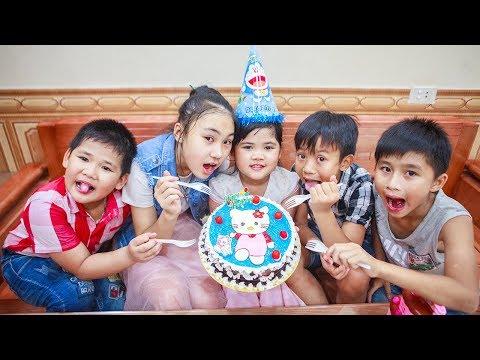 Xxx Mp4 Kids Go To School Day Birthday Of Chuns Children Make A Birthday Cake Hello Kitty 3gp Sex
