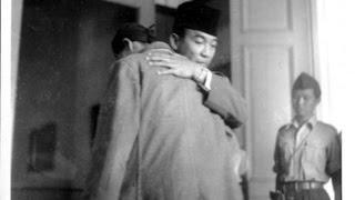 JENDERAL Soedirman mendesak Bung Karno ikut dengan dia ke hutan