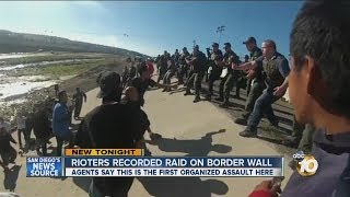 Video shows organized raid on US-Mexico border: Agents say assault is first of its kind there