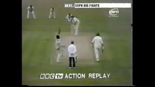 1976 England v West Indies 2nd test match ,day 1 highlights