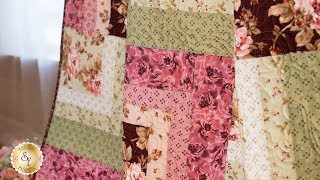 Making the Corner Cabin Quilt Block | a Shabby Fabrics Tutorial