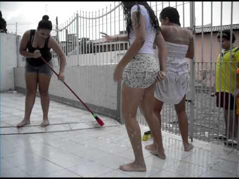 Lavando a garagem parte1