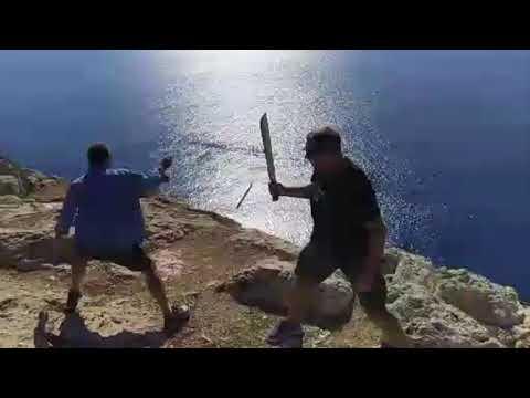 Xxx Mp4 Machete Fighting ACT Disarm 3gp Sex