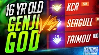 16 Yr Old Genji God 𝘿𝙀𝙎𝙏𝙍𝙊𝙔𝙎 Seagull & Pro 3-Stack! | Overwatch