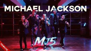 Michael Jackson Tribute By MJ5 Feat. Kumar Sharma - Smooth Criminal