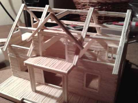Jak zbudować domek z zapałek
