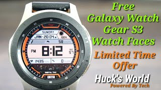 Free Galaxy Watch/Gear S3 Watch Face Download Now