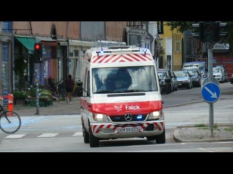 ambulance 3601 falck copenhagen