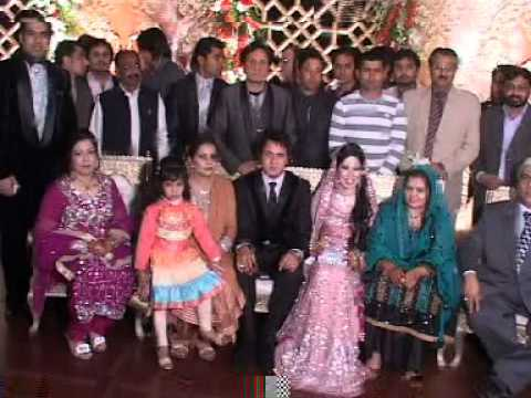 Cricketers and Reema in Abdul Qadir s Son Salman Qadir Marriage Ceremony